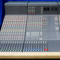 Recording ConsolesMainly but not always used analogue desks, we sometimes also have digital consoles..