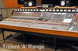 Trident mixing desk