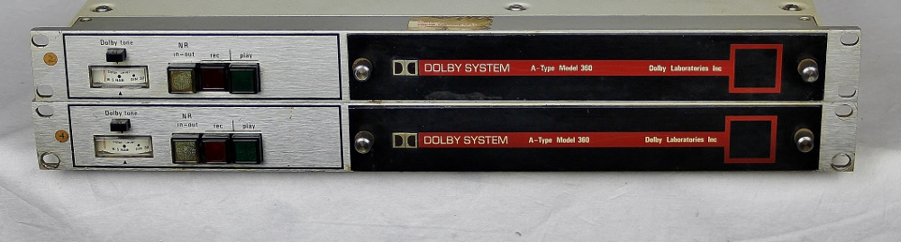 Pair DOLBY 360 Units with Cat 22 cards