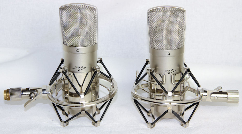Apex 435 Mics with Mounts