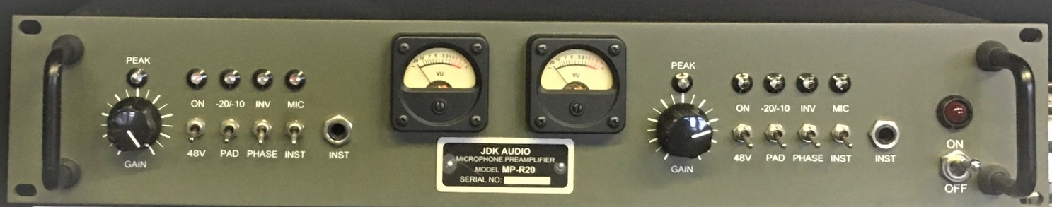JDK Audio MP-R20 Mic Pre-amps