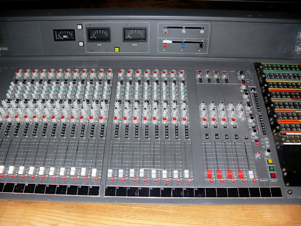 AMEK BC2 Mixer From the front