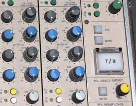 4 band parametric EQ plus variable Hi & Lo Pass filters