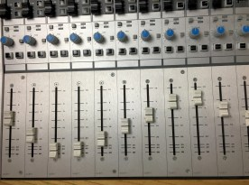 AUDIENT ASP 8024 Channel Faders