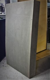 BLACK BOX Acoustic system. Foam block