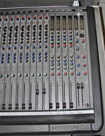 DDA Interface 16 x 4 x 2 Mixing console, master section