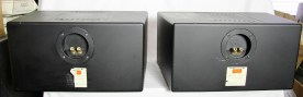 DYNAUDIO M1 2 way passive speakers REAR
