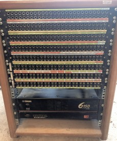 CADAC E Series console patchbay