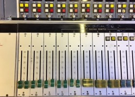 NEVE 66 Faders  for stereo channels