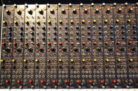 CADAC G Series 32 channel mixer. Preamps
