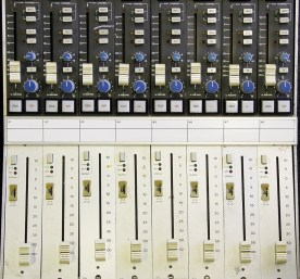 SSL Bucket faders