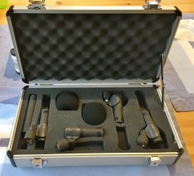 SENNHEISER MKH 8000 Mics in case