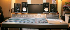 Trident 65 Installed in a studio
