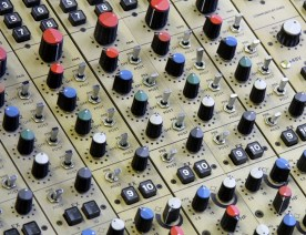 CADAC 20 channel track laying / summing mixer. Aux sends