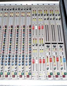 Channel, Aux Master & Group/Matrix modules. Library Picture