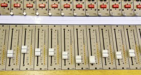 CADAC 20 channel track laying / summing mixer. Fader meters