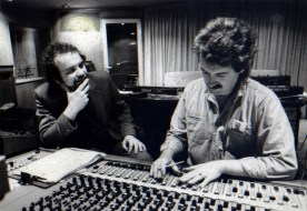 The late John Martyn with  Brian at the MCI