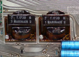 Marinair Transformers on the group outputs
