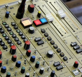 CADAC 20 channel track laying / summing mixer. Master section