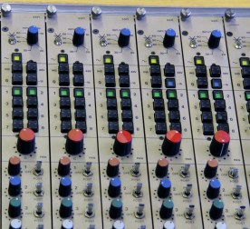 CADAC 20 channel track laying / summing mixer. Routing