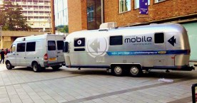 YELLOW FISH MOBILE WITH FREE MERCEDES CAMPER